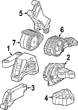 Water Pump 2001 Ford Explorer Sport Trac Engine Diagrams