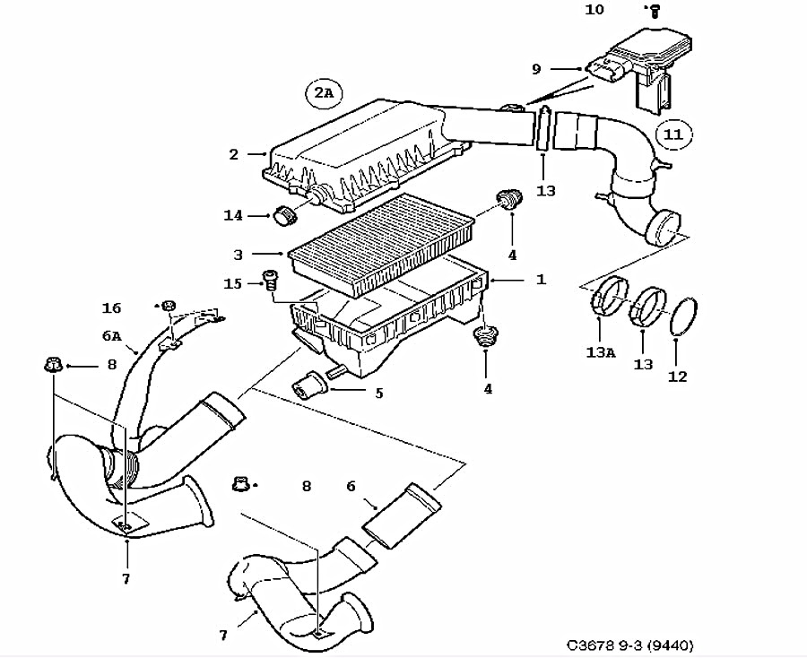 Audi A4 B6 Engine Hoses Diagram Volvo S40 Engine Wiring